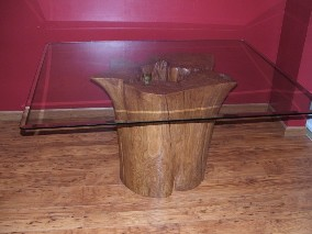 inverted stump table